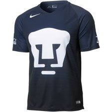 New! 2016-2017 Universidad UNAM Pumas Soccer Navy Jersey (S)