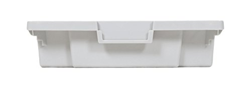 Luxor 8 Small Stackable Storage Polypropylene Bins for Mobile Bin System by Luxor