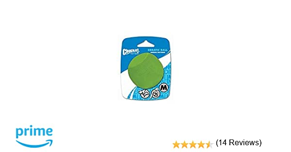 Chuckit! 20130 Erratic Ball Large, 1 Pelota para Perros Compatible ...