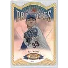 Matt Harvey (Baseball Card) 2013 Topps Finest - Finest Prodigies Die-Cut Refractors #P-MH