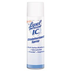 Reckitt Benckiser Lysol Infection Control Disinfectant Spray, 19 Ounce -- 12 per (Reckitt Germicidal Cleaner)