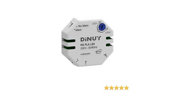 Dinuy RE.PLA.LE1 Regulador l/ámparas led 230v//12v