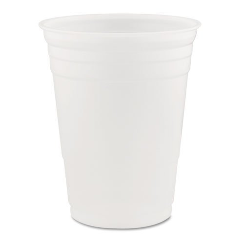 DART P16 Conex Translucent Plastic Cold Cups, 16 oz., (Case of 1,000)