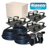 Kasco Marine Robust-Aire Aquatic Aeration System RA3 - For Ponds to 4.5 Surface Acres, 120 Volts, Includes Base Cabinet Mount