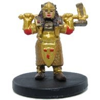 - D & D Minis: Gold Dwarf Female Cleric 47 - Tyranny of Dragons