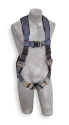 CAPITAL 1108532 DBI-SALA Exofit 1108526 Climbing Harness, Nylon Webbing, XL, Blue