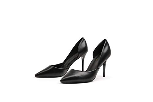 Stiletto Scarpe Partito Damigella Tacchi amp; Black Sera Donna Da Comfort Dandanjie Tacco OxwRCf