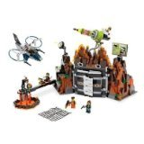 LEGO Agents Exclusive Limited Edition Set #8637 Mission 8 Volcano Base