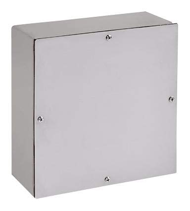 ASE36X36X6SSNK - Metal Enclosure, Pull Box, Electrical / Industrial, Steel, 914 mm, 914 mm, 152 mm, IP66 (ASE36X36X6SSNK)