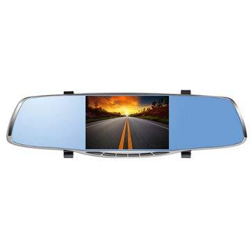 5 Inch 1080P HD Dual Lens Car DVR Dash Cam Recorder 170 Rear View Camera G-sensor - Car DVRs Car DVR Camera -