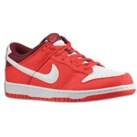 NIKE Dunk Low Mens Basketball Shoes 318019-604 Hyper Red 10.5 M US