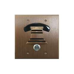 DoorBell Fon DP38 Extra Door Station, 2-Gang Masonry Box Mount, Bronze by DoorBell Fon