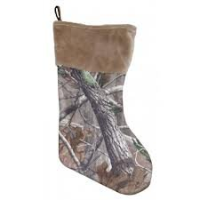 Carstens Shearling Realtree Camo Christmas (Camo Christmas Stocking)