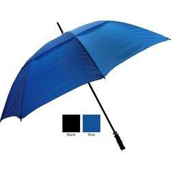 065-FSVBK Fiberglass Shaft Umbrella - Black - Case of 24