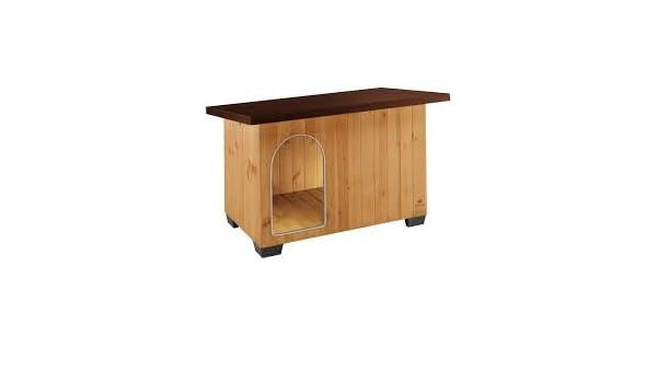 Caseta de Madera Baita 60 (Kit de Montaje cm 73,5 x 59 x 52 para Perros Talla Pequeño: Amazon.es: Productos para mascotas