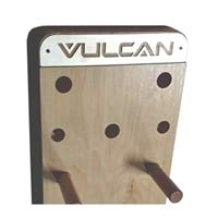 - Pegboard for Climbing - Maple Hard Wood | 35 Staggered Holes Along The Approximately 8' Length of The Wood by Vulcan Strength Training Systems