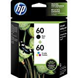 HP 60 Ink Cartridge Combo