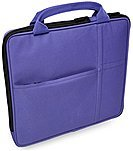 "V7 All-in-one Tablet Sleeve Bag Case with Carrying Handle for iPad Air, iPad Mini 3, Amazon Kindle, Galaxy, Nexus, 7"" to 9.7"" Android and Windows Tablet PCs (TA20PUR-1N)   - Purple"