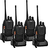 Rivins RV-9 Walkie Talkies Rechargeable for Adults UHF 400~470MHz 16 Channel Long Range
