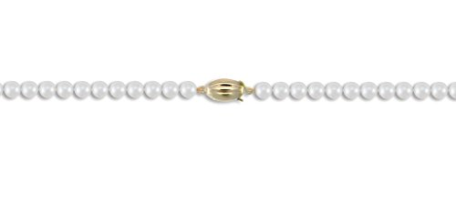 Eau Bracelet Perle de culture 6-6,5 mm Or 9 carats fermoir 19,1 cm