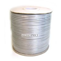 (Monoprice 8 Wire, Stranded, Silver - 1000ft)
