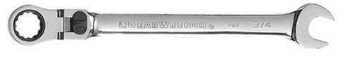 GearWrench 9705 5//16-Inch Flex-Head Combination Ratcheting Wrench