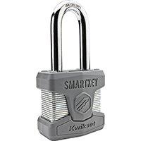 KwiksetProducts Padlock Long Shackel Smart Key, Sold as 1 Each