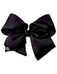 JoJo Siwa Large Black Signature Hair Bow Dance Hair Bow Cheerleader Bow from jo jo