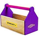 Stanley Jr.. - Toolbox Kit, Large Wood Building Kits Ages 5+ (K109BUD-Sy)