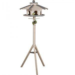 support mangeoire oiseaux. Black Bedroom Furniture Sets. Home Design Ideas
