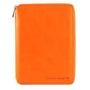 Cuadernos | Carpeta organizadora de agenda de piel clásica ...