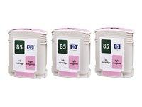 HP 85 light Magenta 85 Vivera Dye 3-Ink Multipack (69 ml x 3) Light Magenta