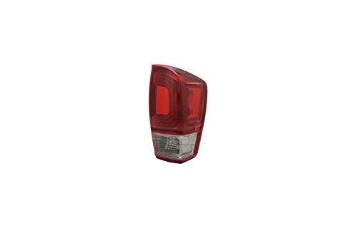1 Tail Light (TYC 11-6849-90-1 16-17 Tacoma TRD Sport T.L Rh Tail Light, 1 Pack)