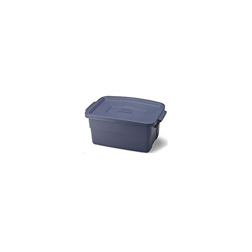 United Solutions RMRT030007 Roughneck Storage Tote, 3-Gal., Must Purchase in Quantities of 12 - Quantity 12 (Storage Tote Roughneck)