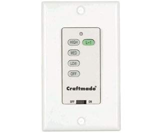 Craftmade UCI-Wall Wall Control from Craftmade