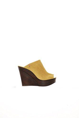MANILA GRACE Mujer Zapatos de Plataforma amarillo