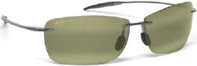 Mens Maui Jim Lighthouse Polarized Sunglasses (Rootbeer Frame/Hcl Bronze - Bronze Sunglasses