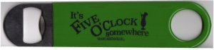 (Rico Industries 5 O'clock Somewhere Margaritaville Bar Blade, Lime Green with Navy Imprint)