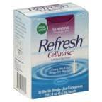 REFRESH CELLUVISC Lubricant Eye Gel Single-Use Containers 30 ea (Pack of 6) by Refresh