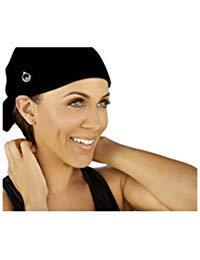 (Save Your Do™ Full Triangle GymWrap Sweat-Wicking Headband w Edge Control by Nicole Ari Parker)