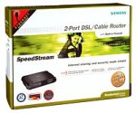 Siemens SpeedStream 2-Port DSL/Cable Router (SS2602)