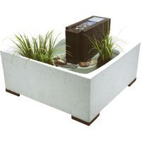 Laguna Decor Faux Wood Contemporary Design Decorative Water Feature Kit, Kanji