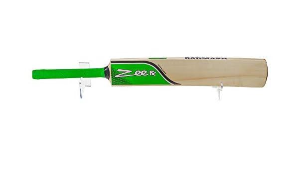 A023-6B-LS Acrylic Six Baseball Bat Horizontal Wall Mount Bracket Set