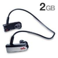 Sony Headphone-Style Walkman MP3 Player (Black) by Sony