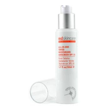 All-in-One Tinted Moisturizer SPF 15 - Dark - MD Skincare - Day Care - 50ml/1.7oz