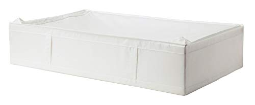 (IKEA Skubb Underbed Storage Case with Zipper. Approx 36.1/2 x 21.3/4 x 7.1/2 (2, White))