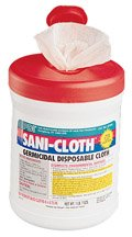 [Itm] Sani-Cloth Plus, Tub [Acsry To]: Sani-Cloth Germicidal Towelettes - Sani-Cl... see description by Unknown