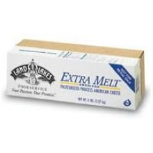 UPC 034500481540, Land O Lakes American Extra Melt White Process Cheese Loaf, 5 Pound -- 6 per case.