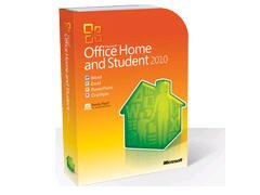 Microsoft Office Home & Student 2010 3-Users