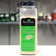 McCormick All Natural Gourmet Granulated Onion, 19.5 Ounce Packed in USA by McCormick by McCormick